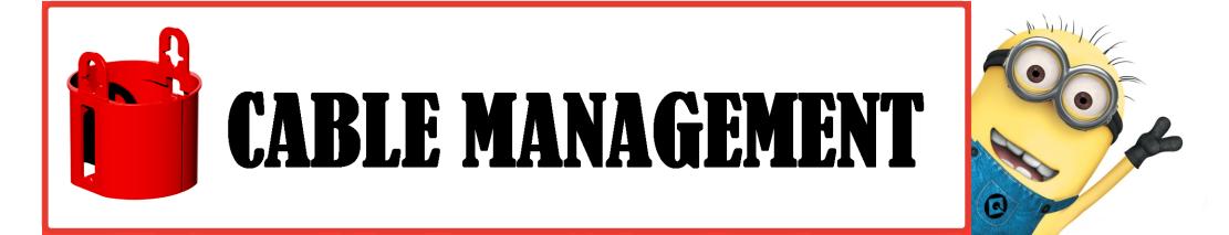 COLOR CABLE MANAGEMENT